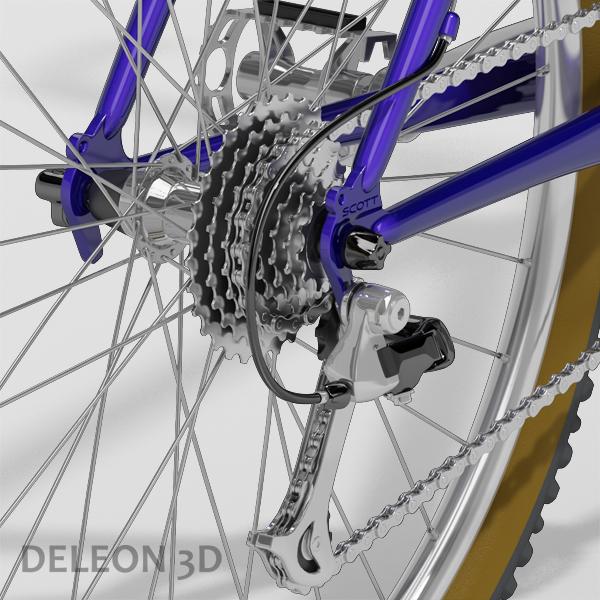 Mountain Bike  ( 273KB jpg by leon0027 )