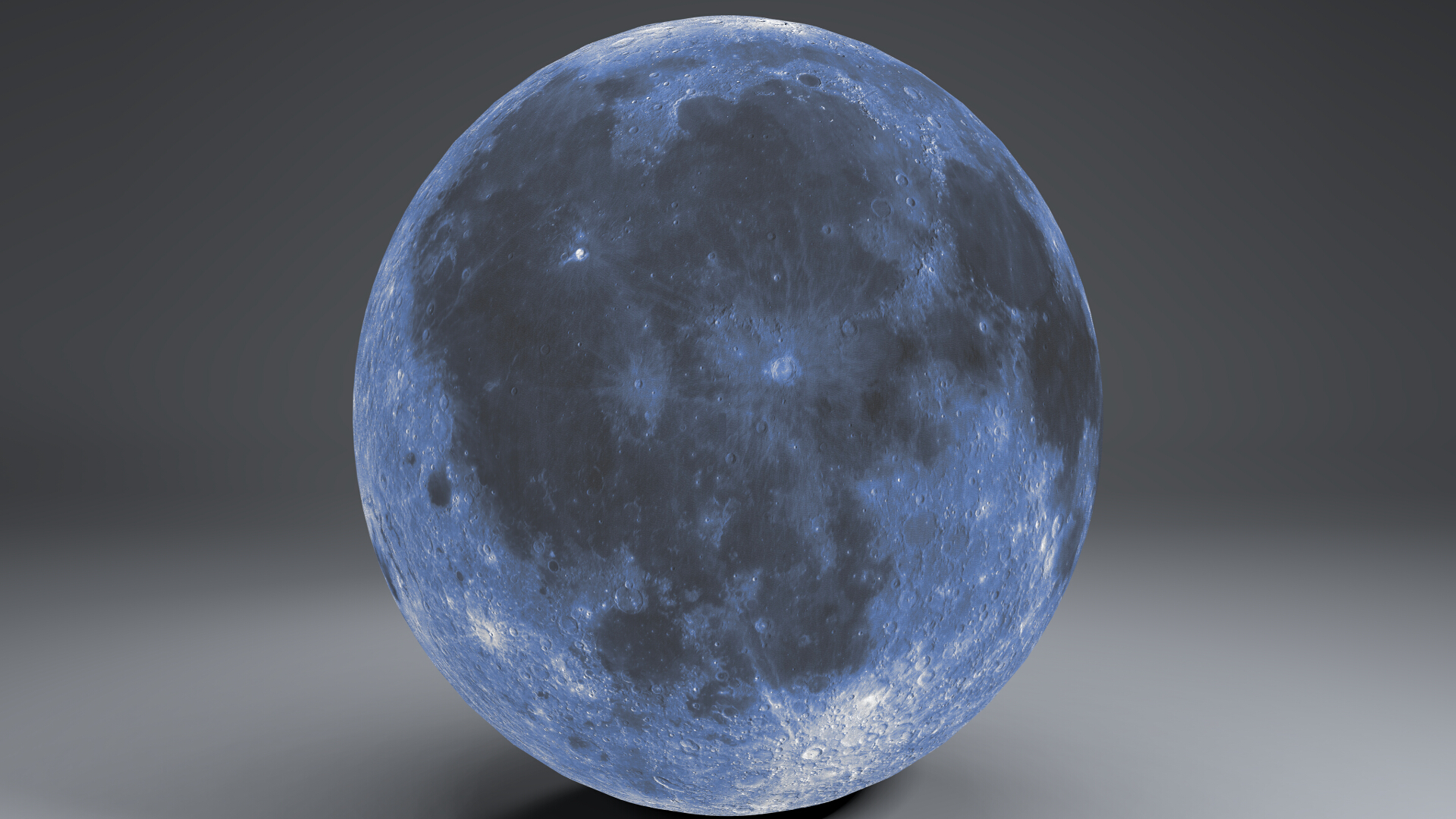 blue moonglobe 11k 3d model 3ds fbx blend dae obj 221886