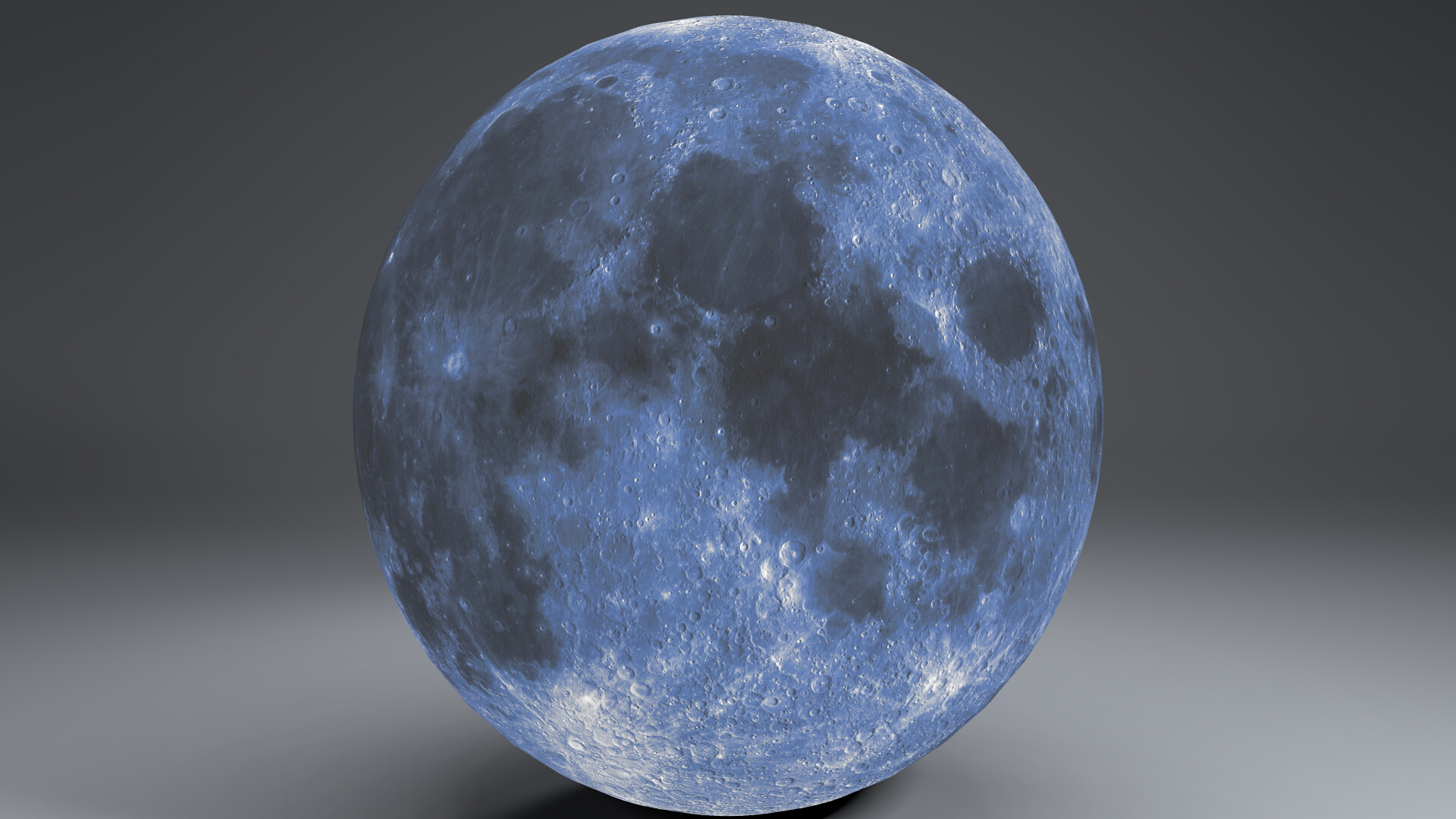 blue moonglobe 11k 3d model 3ds fbx blend dae obj 221887
