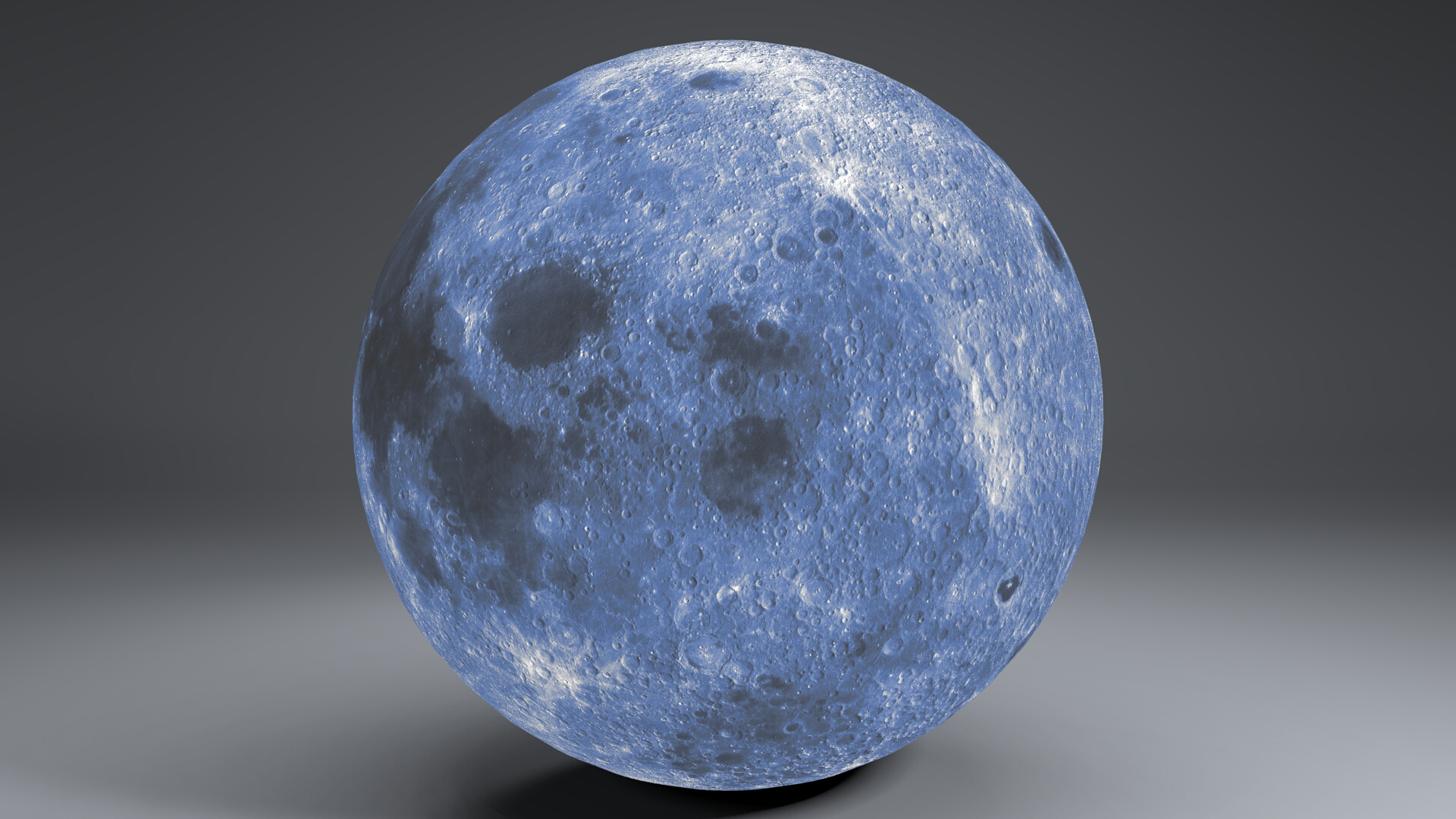 blue moonglobe 11k 3d model 3ds fbx blend dae obj 221889
