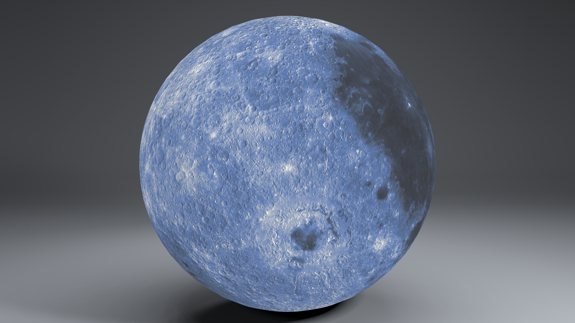 blue moonglobe 11k 3d model 3ds fbx blend dae obj 221891