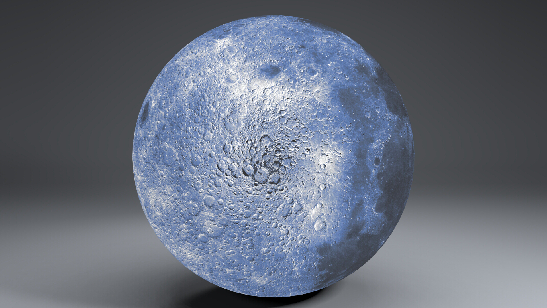 blue moonglobe 11k 3d model 3ds fbx blend dae obj 221892