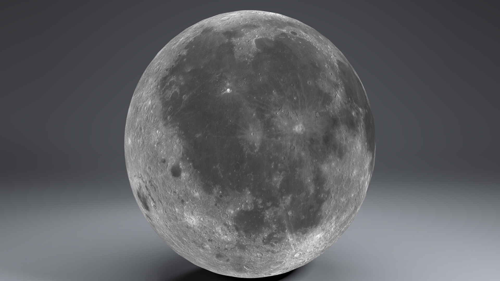 moon globe 11k 3d model 3ds fbx blend dae obj 221920