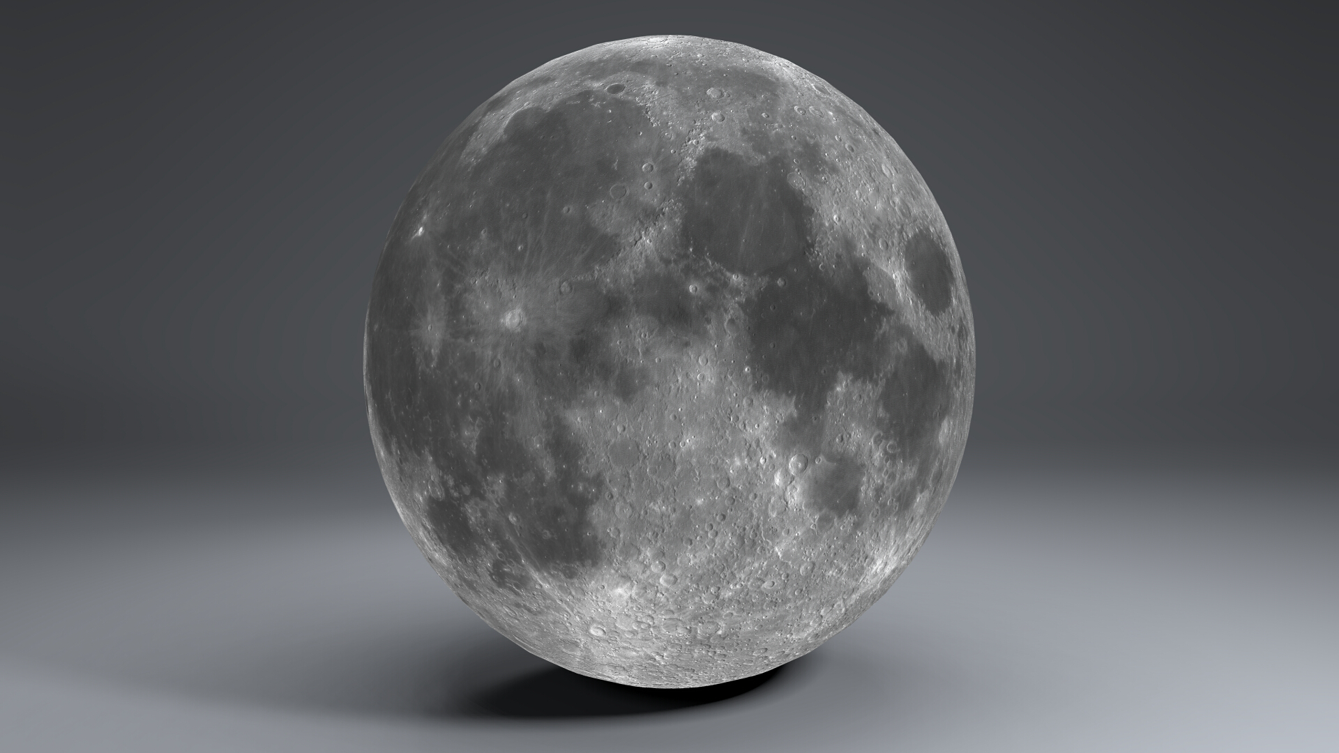 moon globe 11k 3d model 3ds fbx blend dae obj 221922