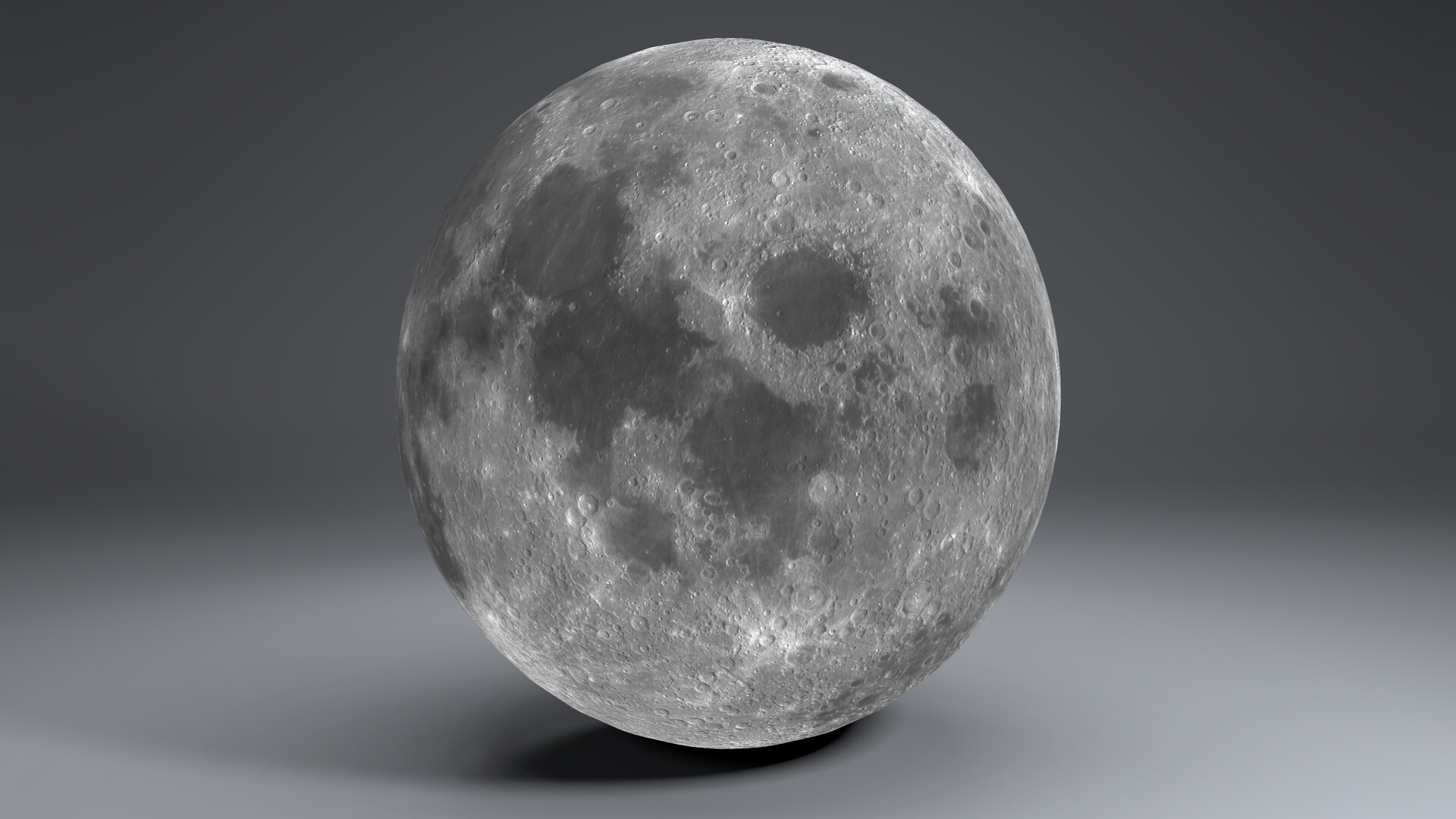 moon globe 11k 3d model 3ds fbx blend dae obj 221923