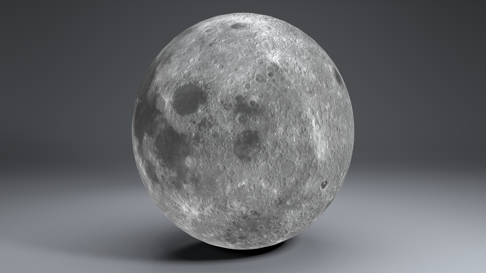 moon globe 11k 3d model 3ds fbx blend dae obj 221924