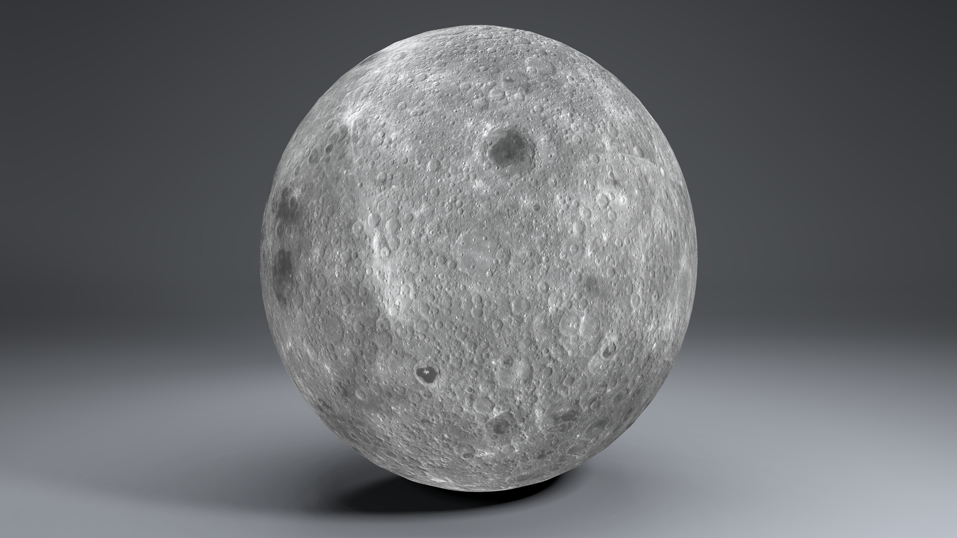 moon globe 11k 3d model 3ds fbx blend dae obj 221925