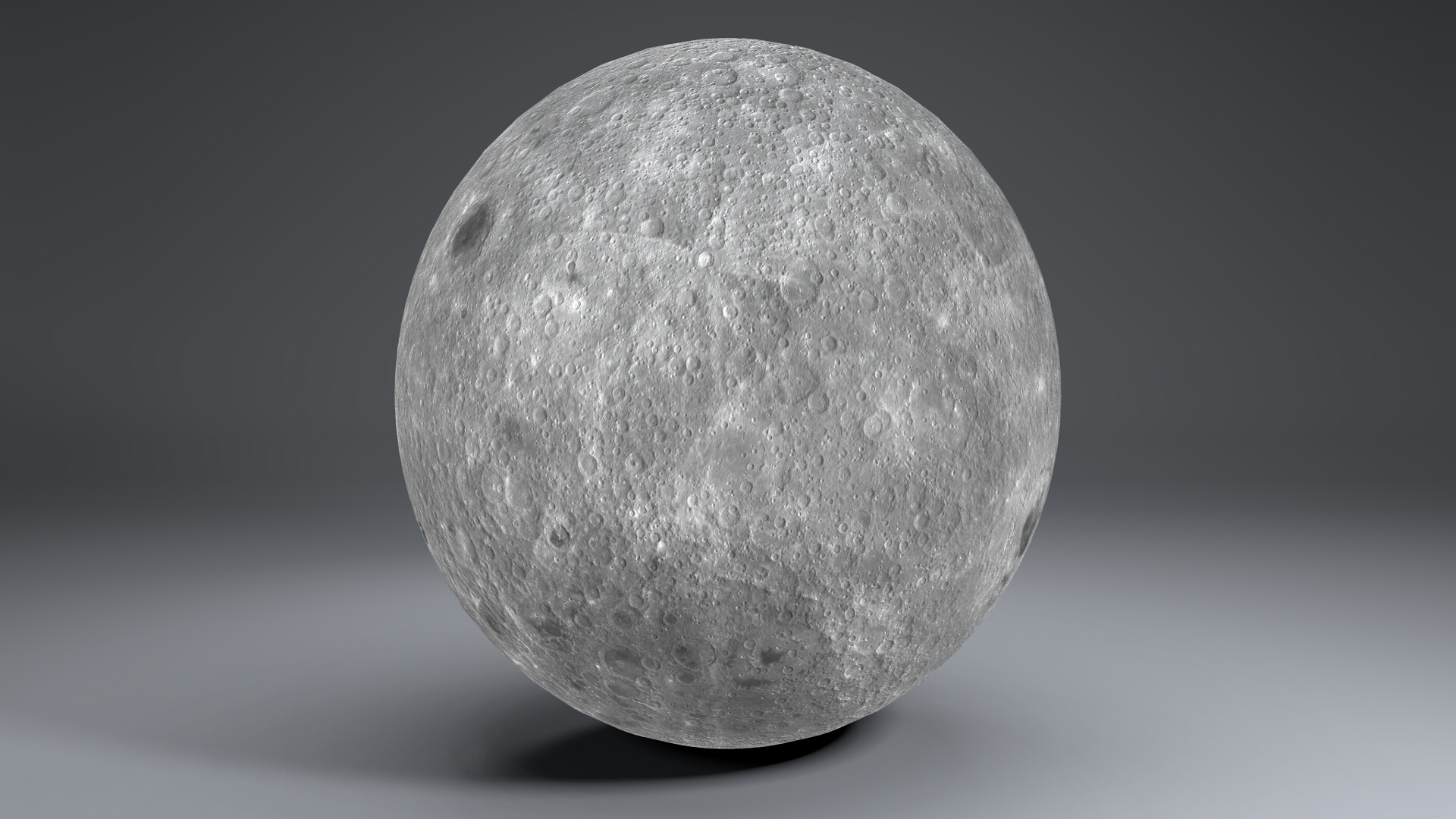 moon globe 11k 3d model 3ds fbx blend dae obj 221926