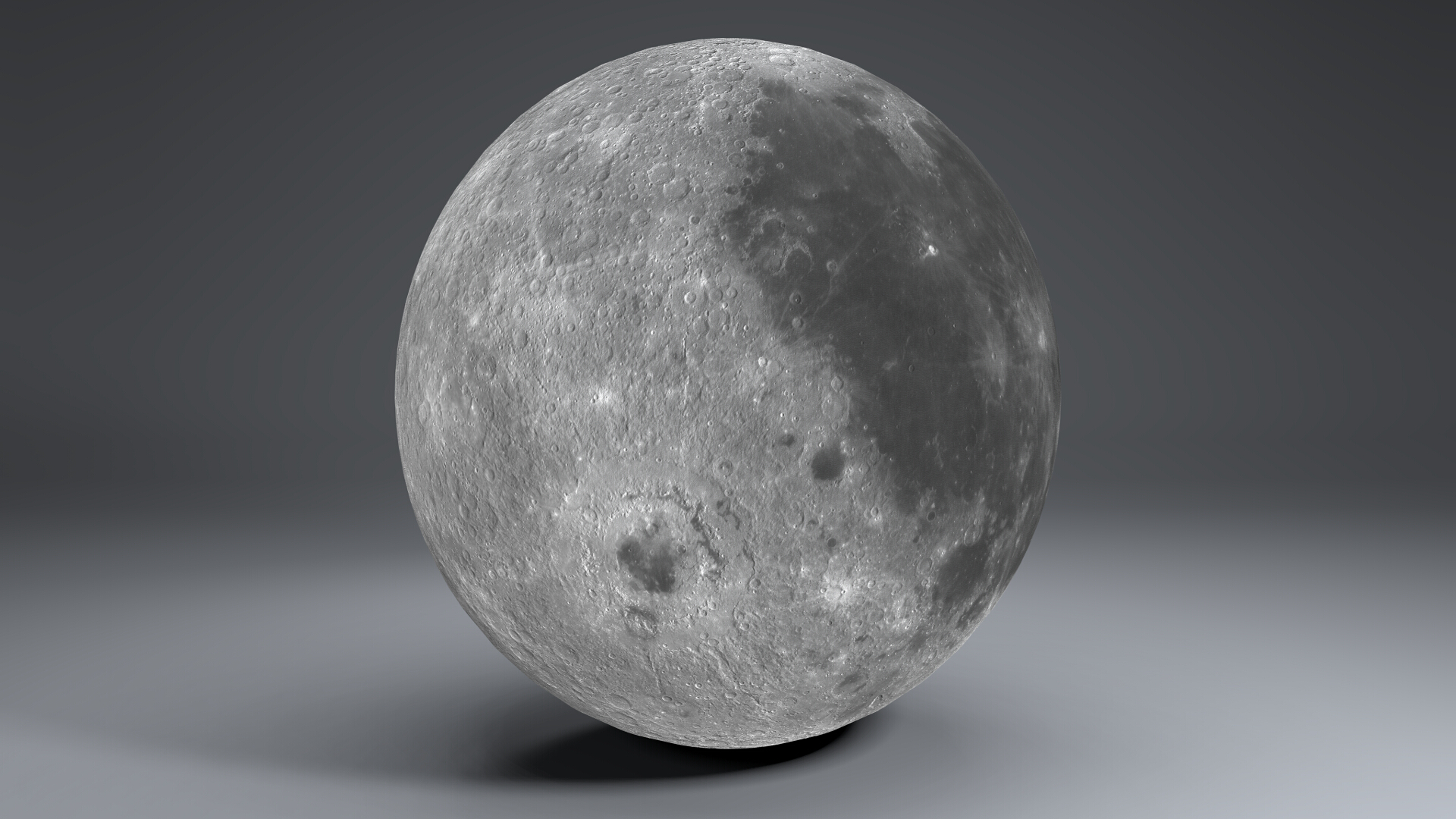 moon globe 11k 3d model 3ds fbx blend dae obj 221927