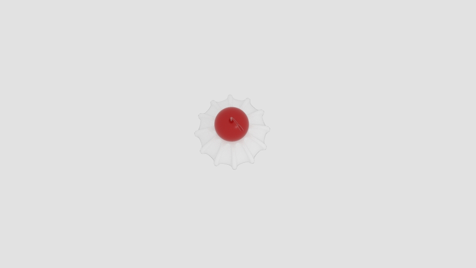 cherry cream 3d model blend 221939