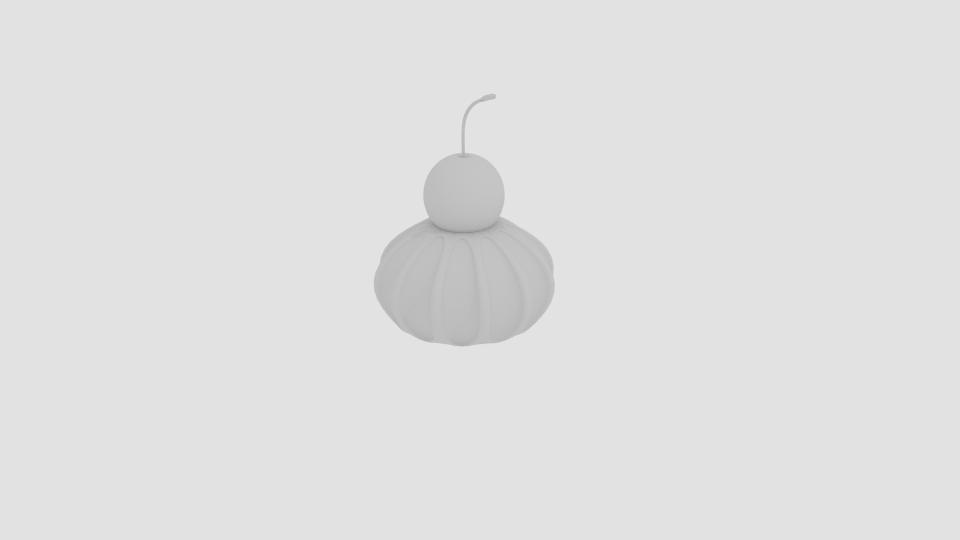 cherry cream 3d model blend 221941
