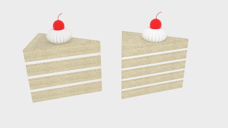 cherry cake 3d model blend 221951