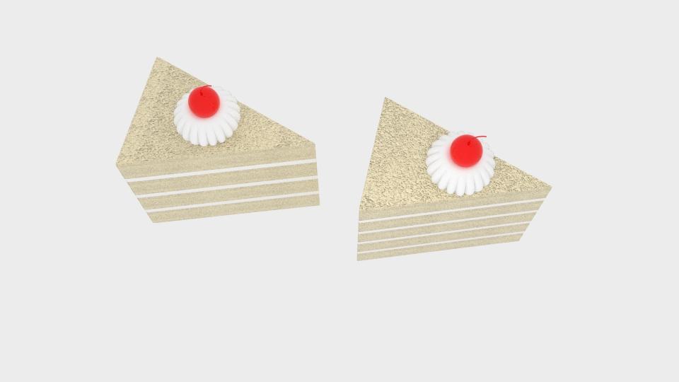 cherry cake 3d model blend 221953