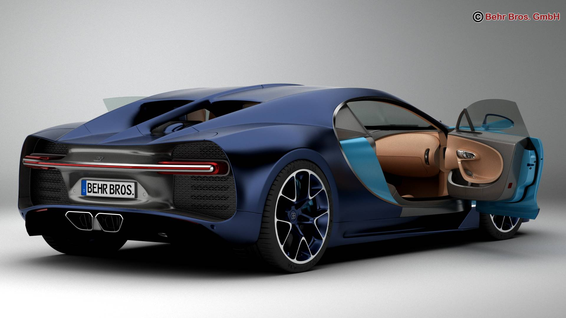 bugatti chiron 2017 3d model 3ds max fbx c4d lwo ma mb obj 222110