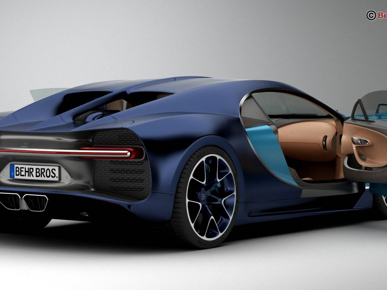 Bugatti Chiron 2017 ( 148.98KB jpg by Behr_Bros. )
