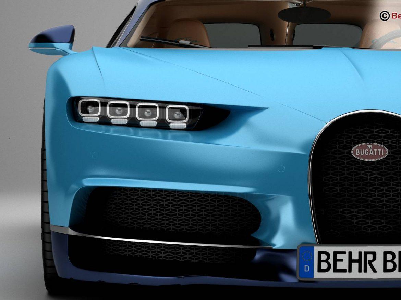 Bugatti Chiron 2017 ( 149.93KB jpg by Behr_Bros. )