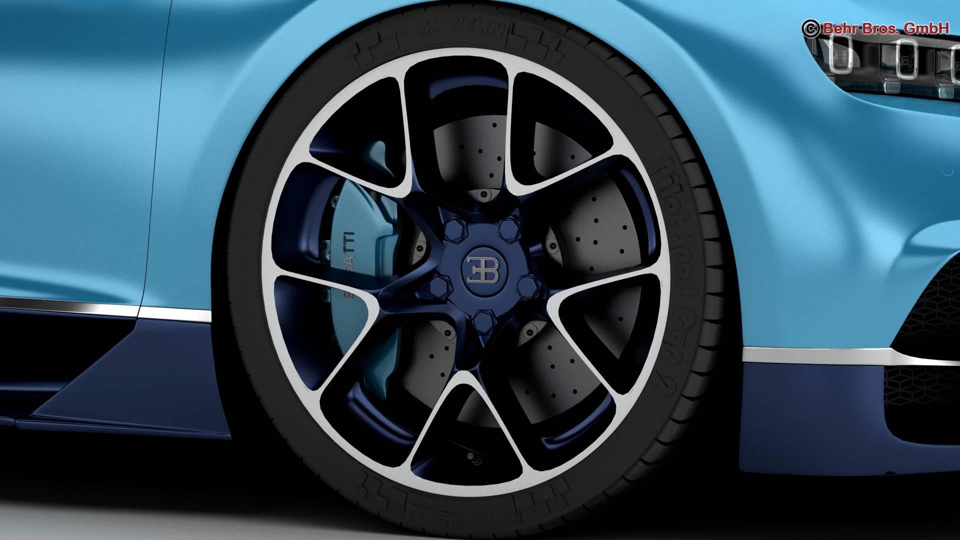 bugatti chiron 2017 3d model 3ds max fbx c4d lwo ma mb obj 222114