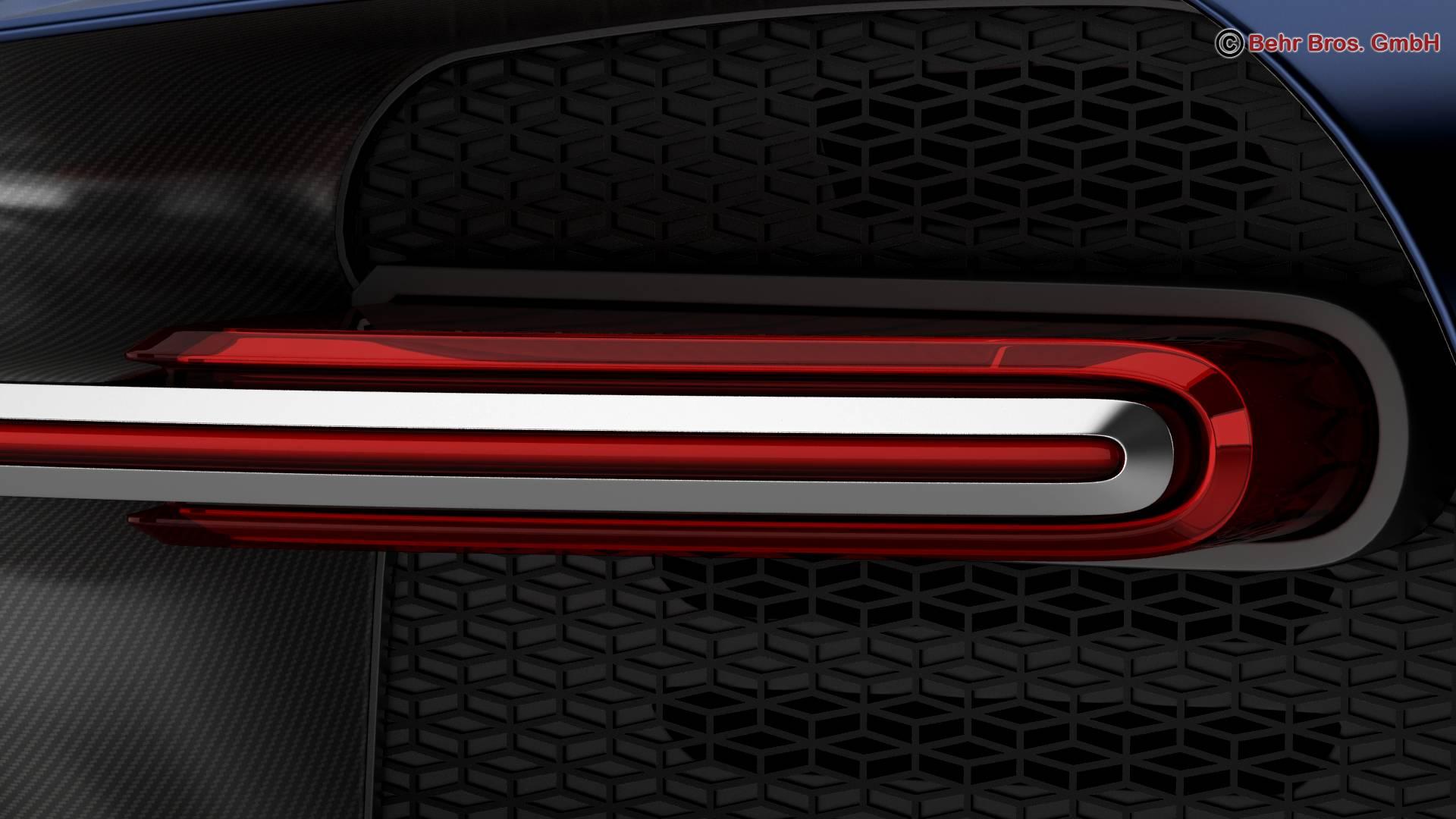 bugatti chiron 2017 3d model 3ds max fbx c4d lwo ma mb obj 222116