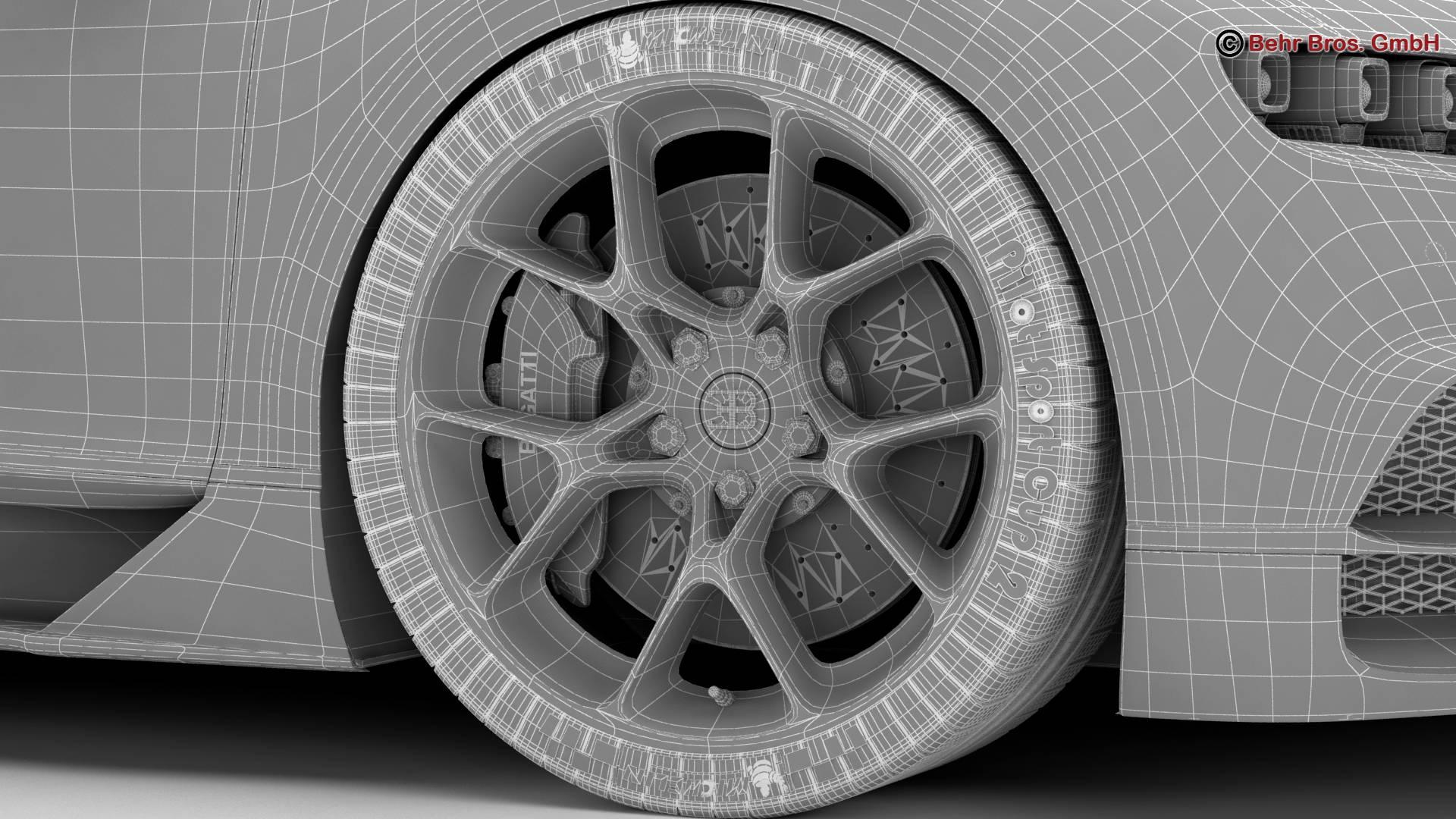 bugatti chiron 2017 3d model 3ds max fbx c4d lwo ma mb obj 222129