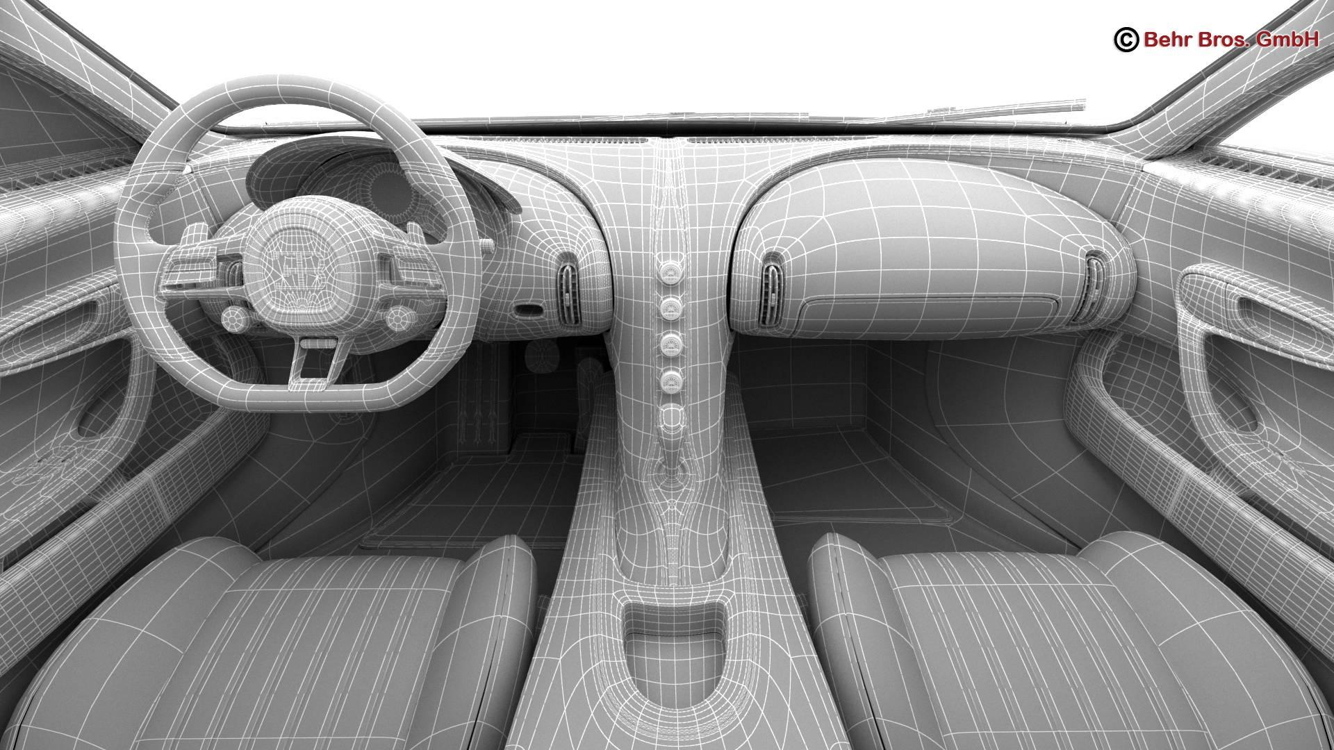 bugatti chiron 2017 3d model 3ds max fbx c4d lwo ma mb obj 222134