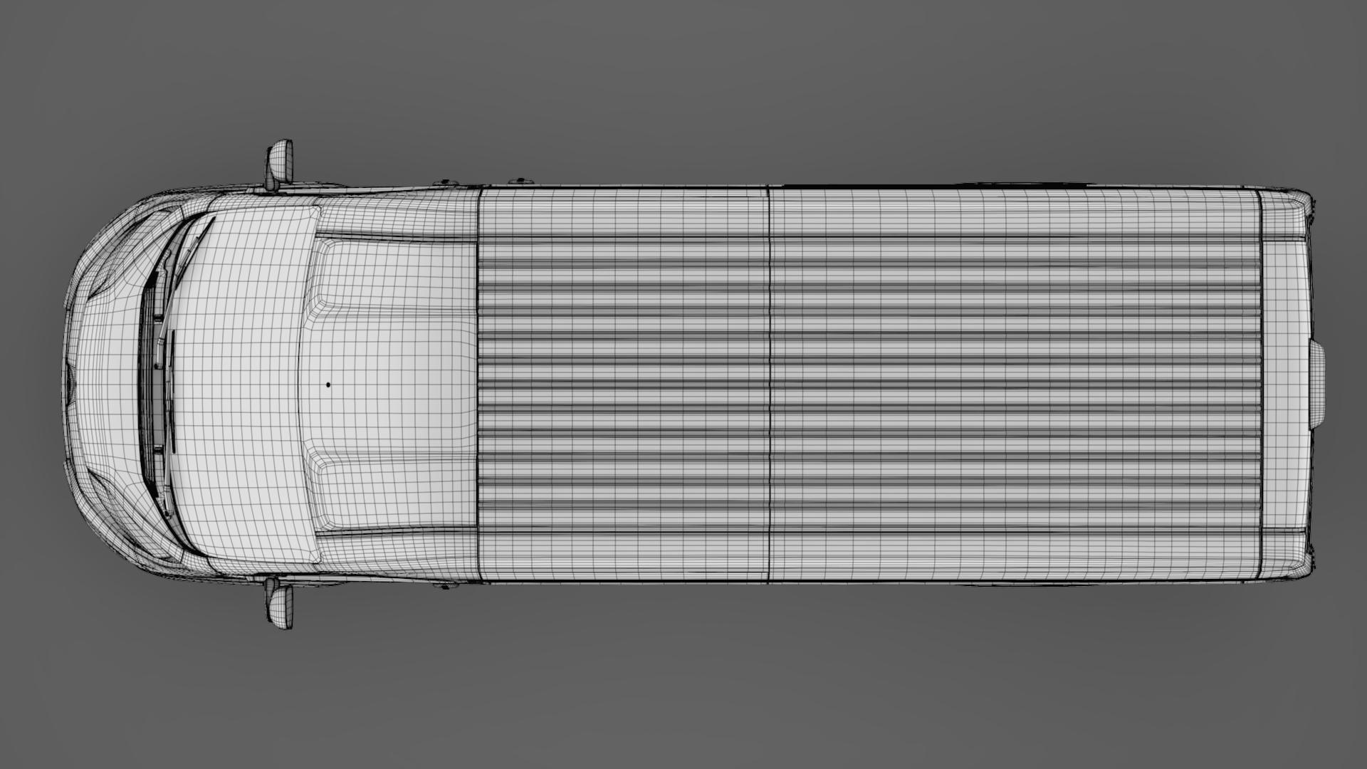 citroen jumper van l4h2 2017 3d model 3ds max fbx c4d lwo ma mb hrc xsi obj 222183