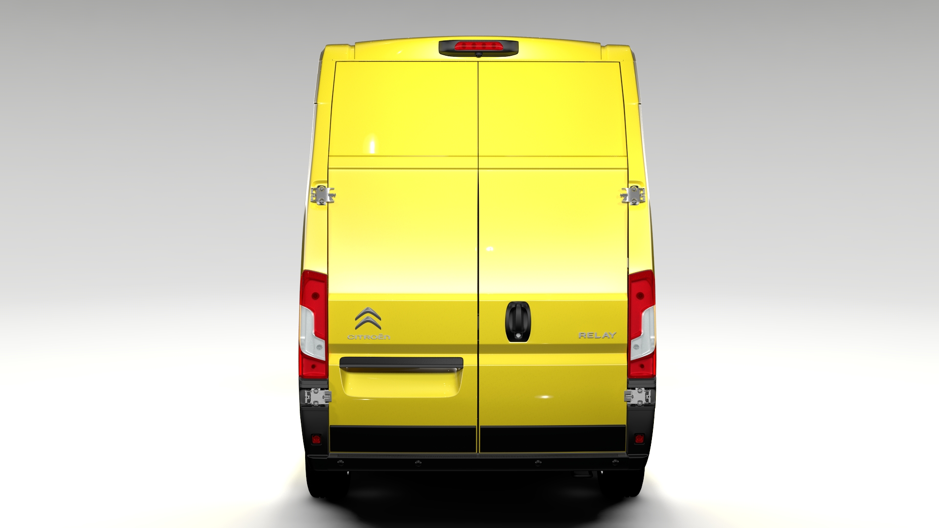 Citroen Relay Van L3h3 2017 3d Model For Vehicle 3ds Max Fbx C4d Lwo Ma Mb Hrc Xsi