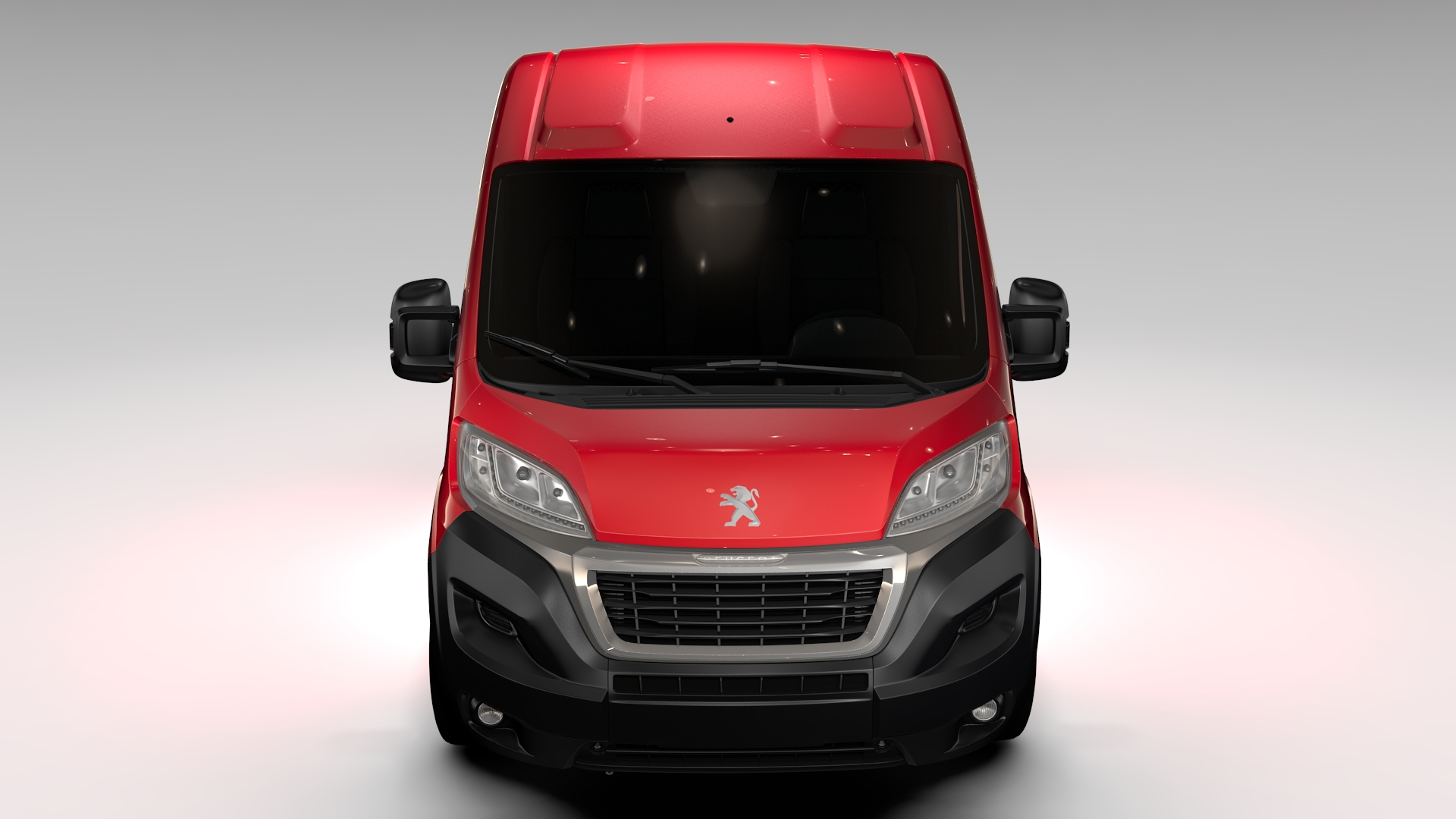 Peugeot boxer van l1h2 2017 3d líkan 3ds hámark fbx c4d lwo ma mb hrc xsi obj 222237