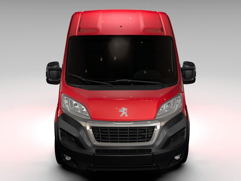 Peugeot Boxer Van L1H2 2017 ( 476.8KB jpg by CREATOR_3D )
