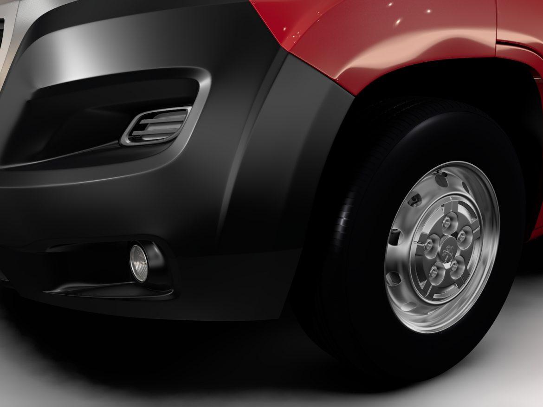Peugeot Boxer Van L1H2 2017 ( 499.1KB jpg by CREATOR_3D )