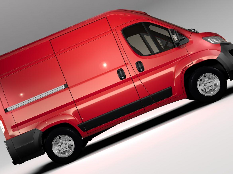 Peugeot Boxer Van L1H2 2017 ( 681.73KB jpg by CREATOR_3D )