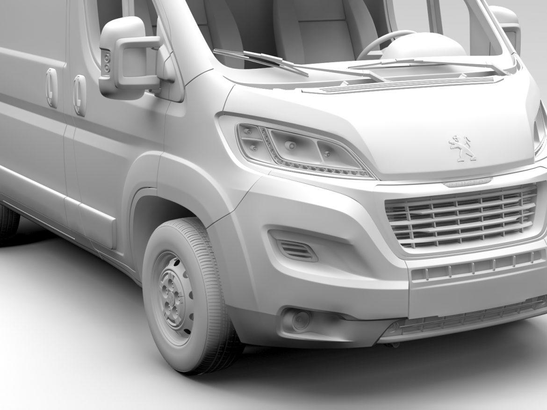 Peugeot Boxer Van L1H2 2017 ( 574.8KB jpg by CREATOR_3D )