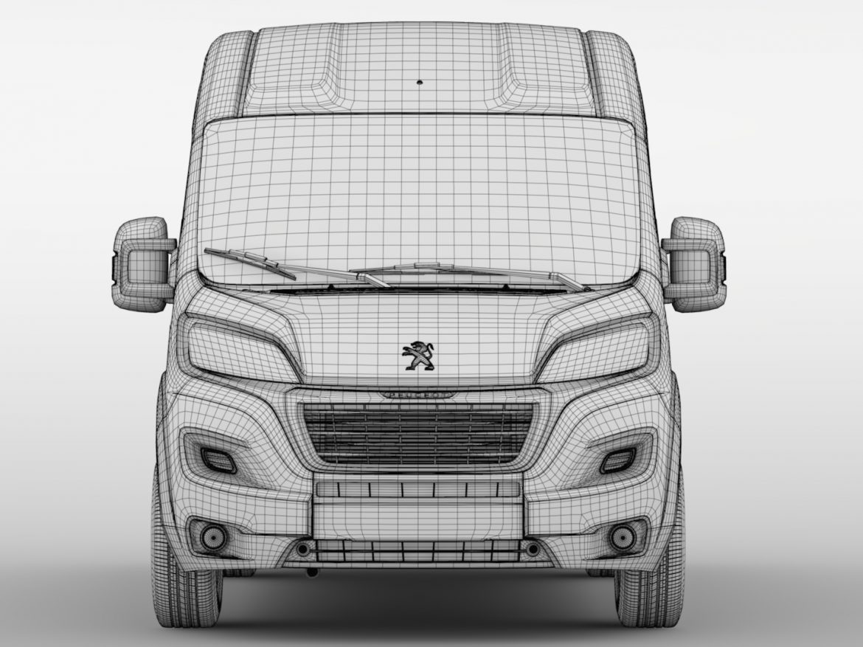 Peugeot Boxer Van L1H2 2017 ( 604.39KB jpg by CREATOR_3D )