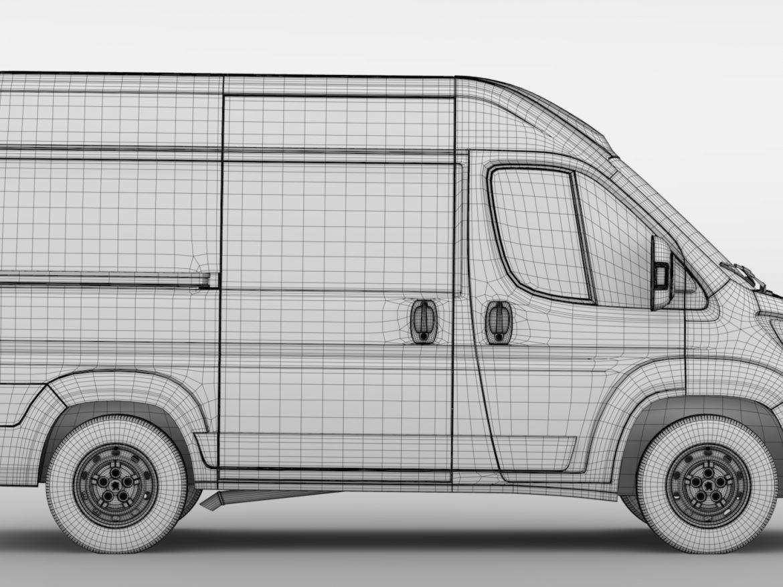 Peugeot Boxer Van L1H2 2017 ( 759.36KB jpg by CREATOR_3D )