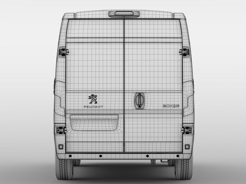 Peugeot Boxer Van L1H2 2017 ( 426.75KB jpg by CREATOR_3D )
