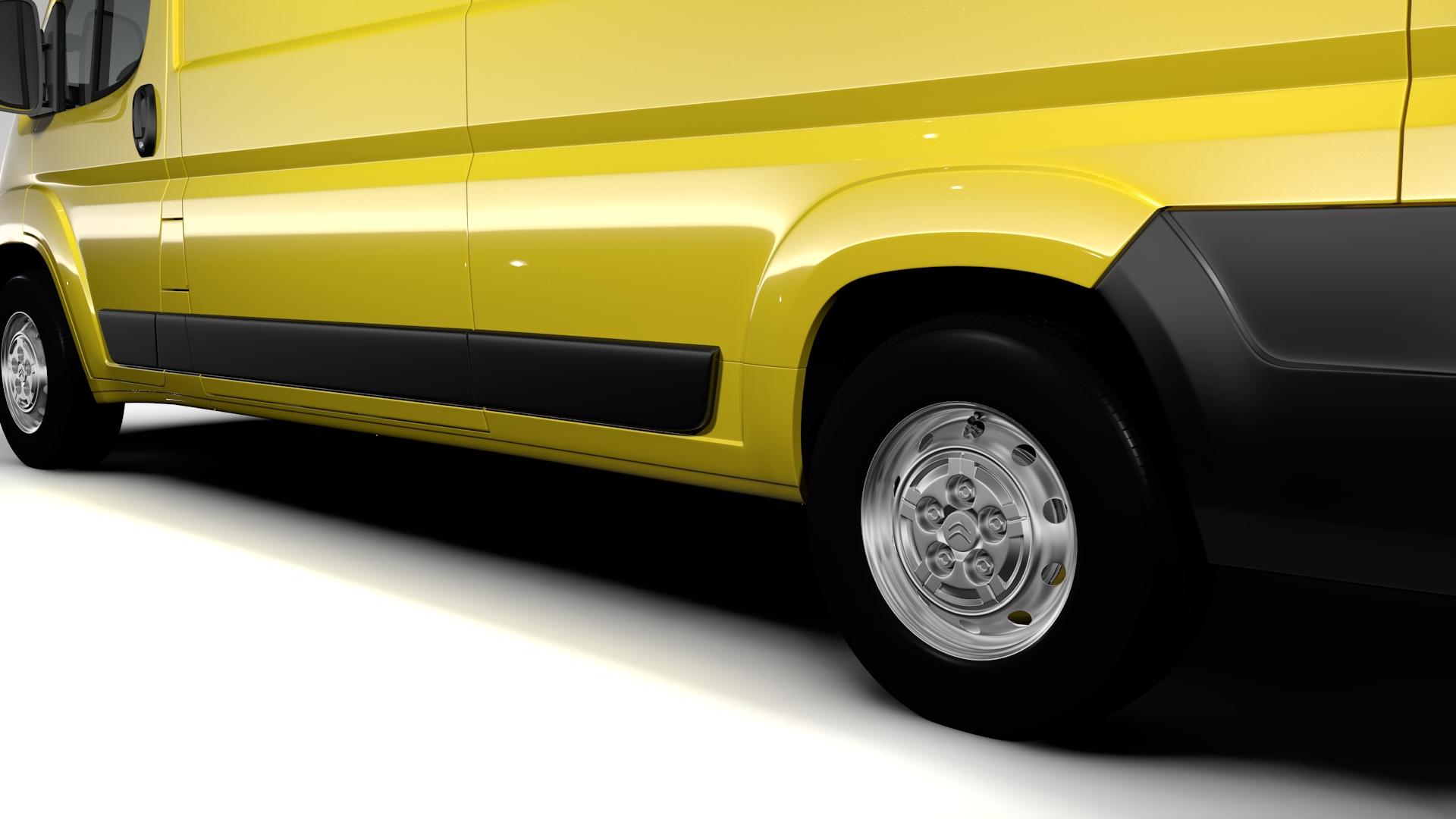 citroen jumper van l3h3 2017 3d model 3ds max fbx c4d lwo ma mb hrc xsi obj 222272