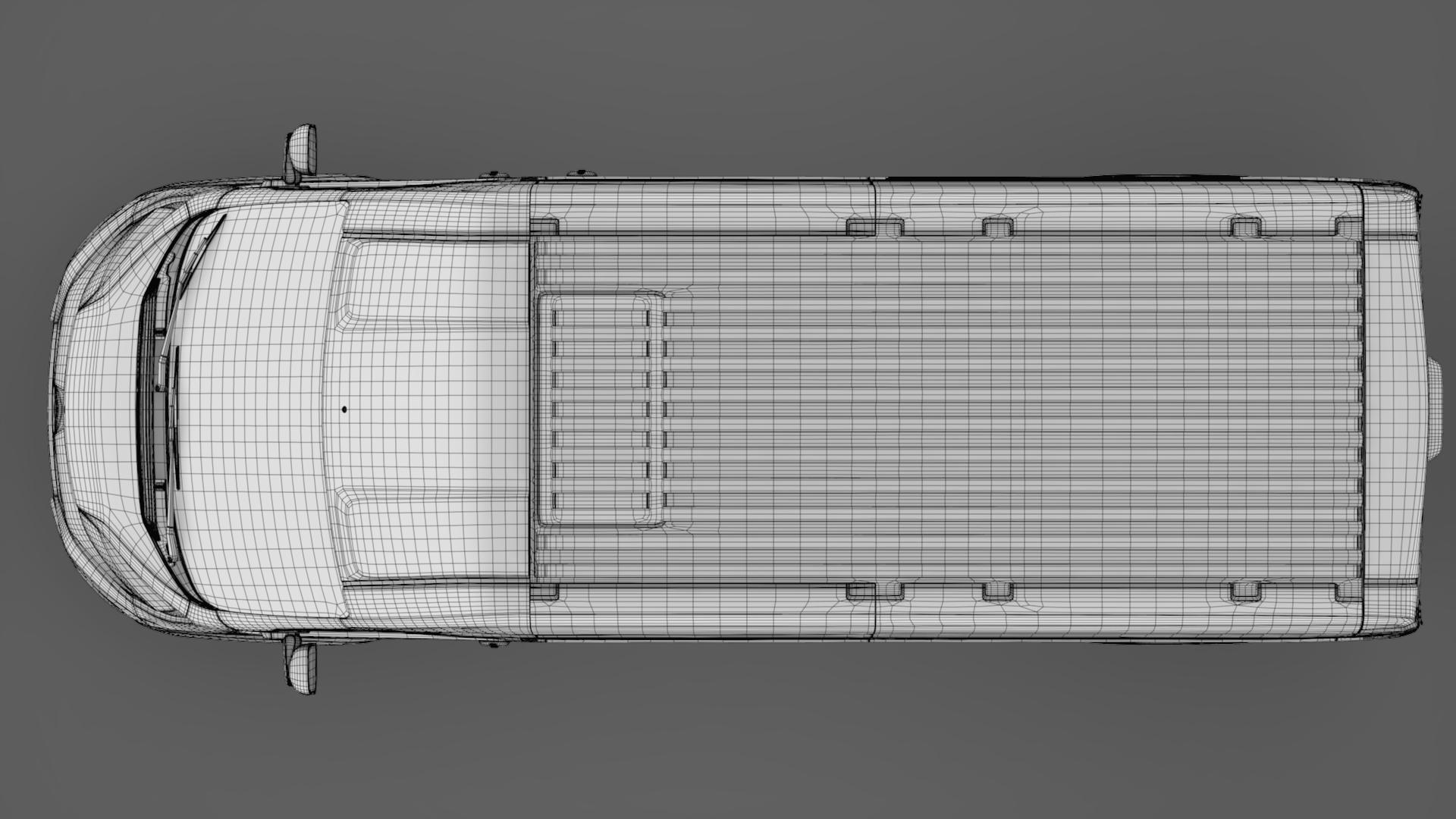 citroen jumper van l3h3 2017 3d model 3ds max fbx c4d lwo ma mb hrc xsi obj 222285