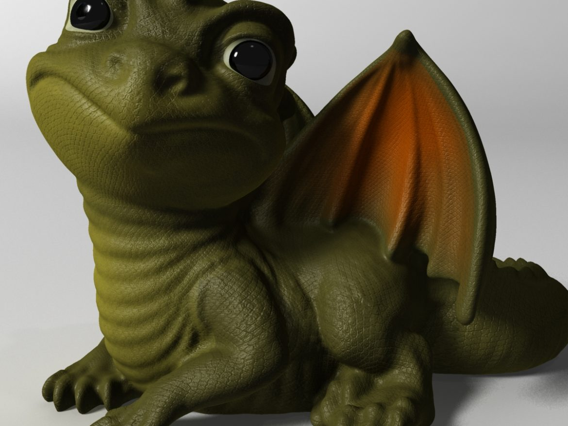Baby Dragon ( 753.32KB jpg by supercigale )