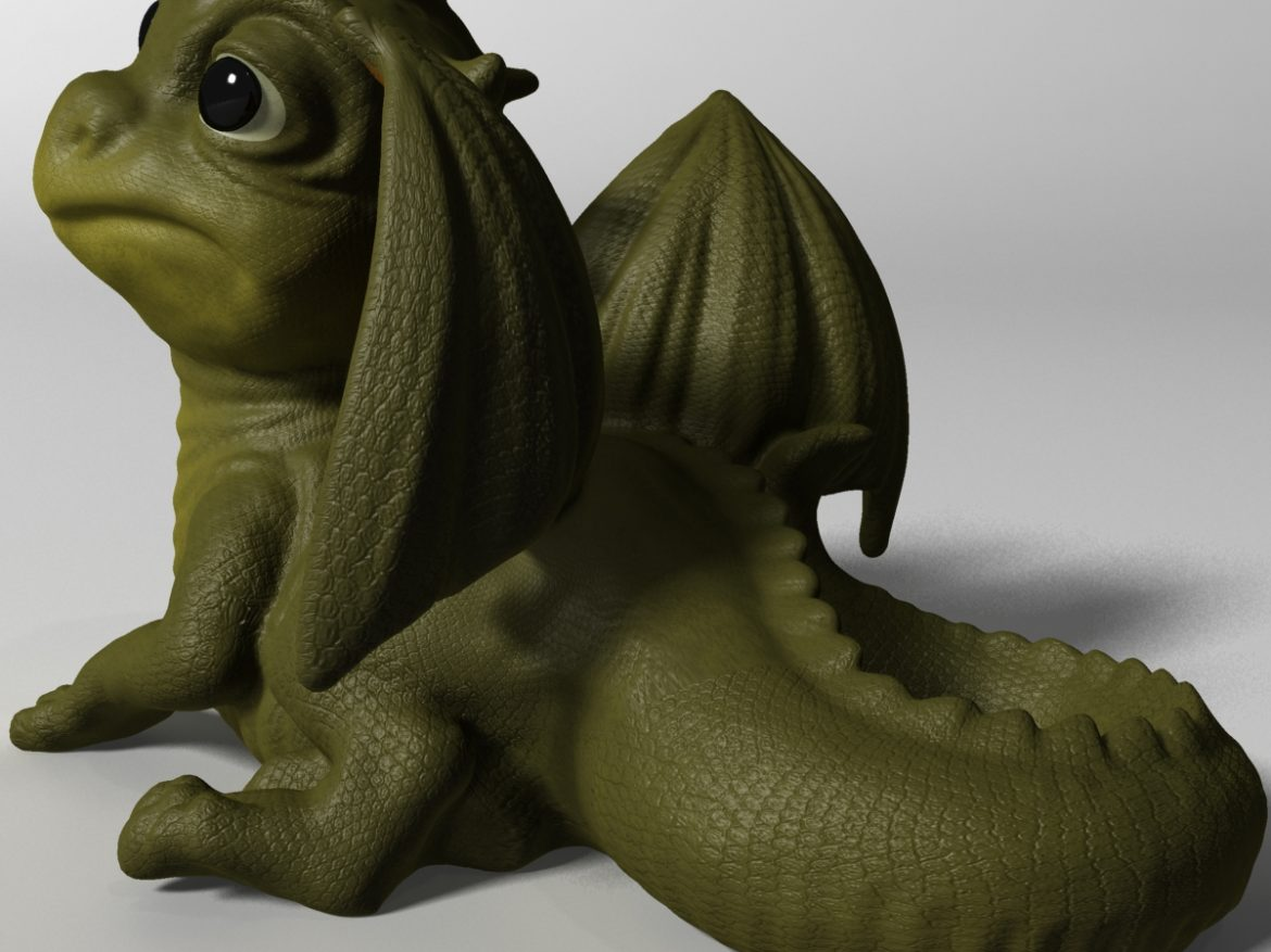 Baby Dragon ( 712.63KB jpg by supercigale )