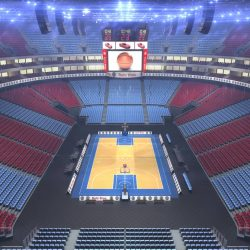 Basketball Arena V2 3d model 0