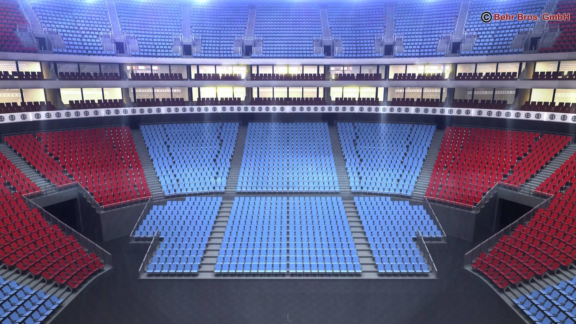košarkaška arena v2 3d model 3ds max fbx c4d lwo ma mb obj 222369