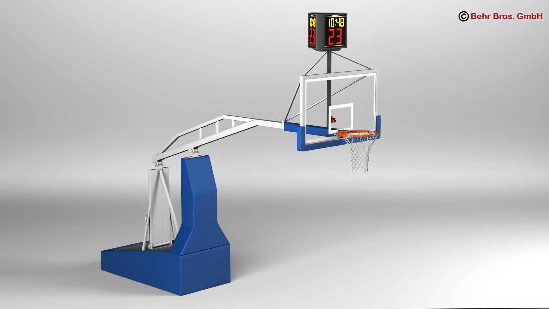 košarkaška arena v2 3d model 3ds max fbx c4d lwo ma mb obj 222371