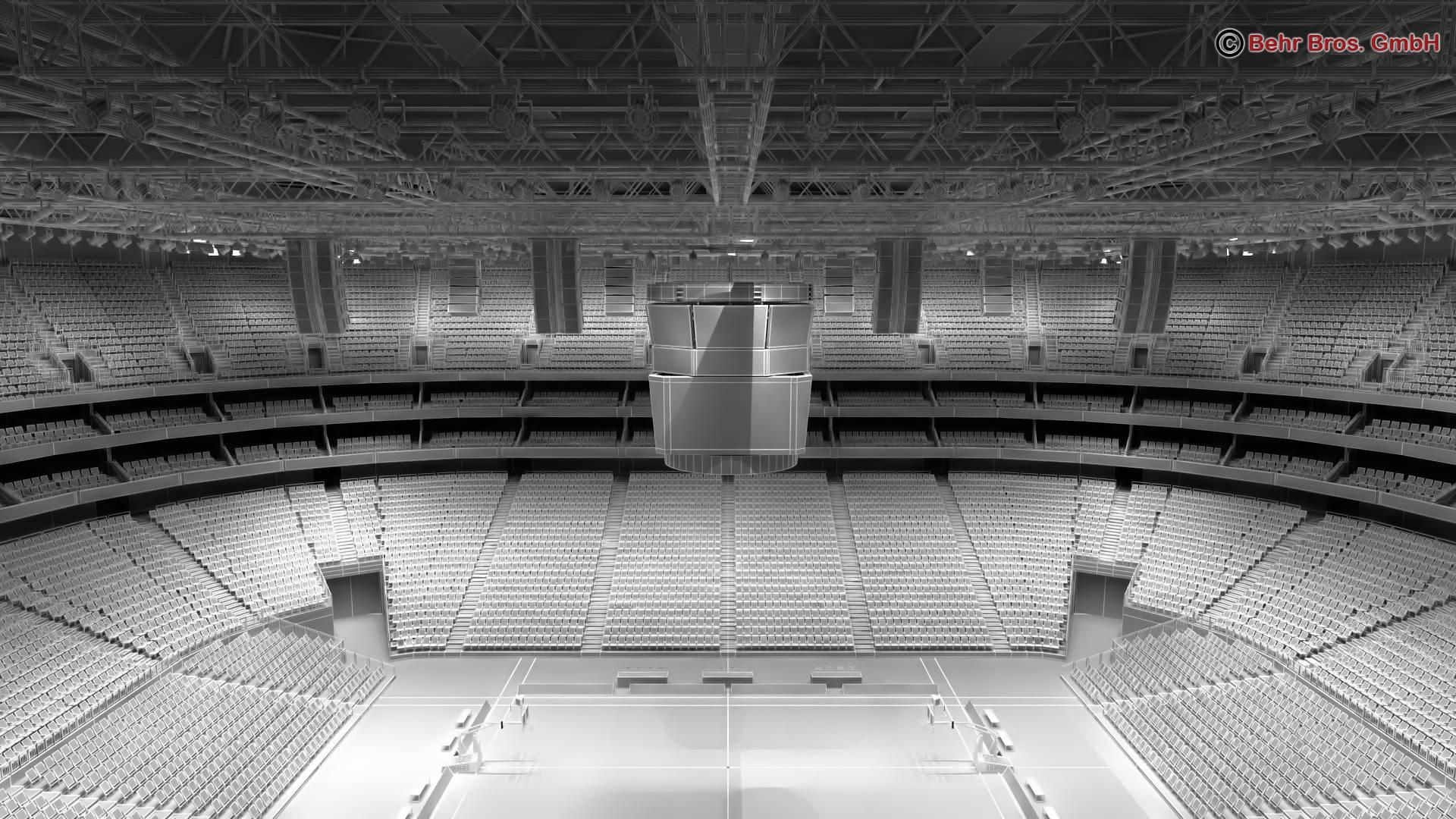 košarkaška arena v2 3d model 3ds max fbx c4d lwo ma mb obj 222378