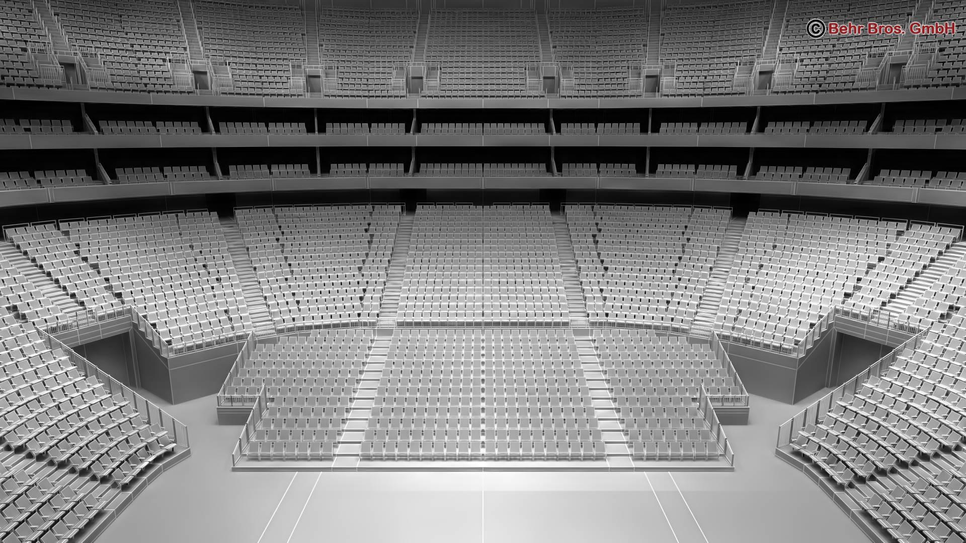 košarkaška arena v2 3d model 3ds max fbx c4d lwo ma mb obj 222380