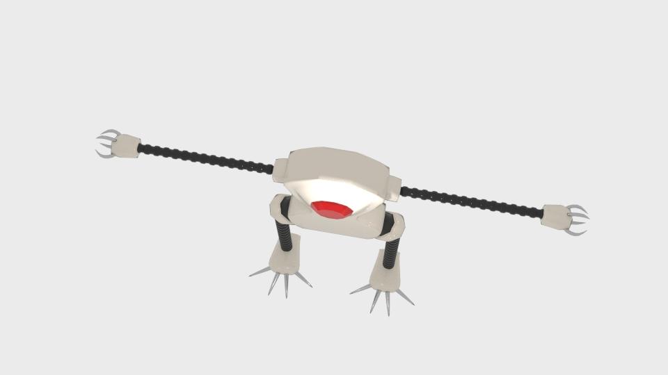 Mae model 3d clawrobot yn cyfuno 222437