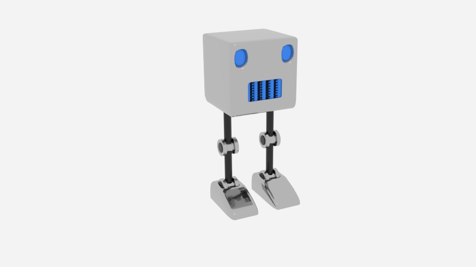 cubot 3d model blend 222457