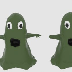 Sludgemonster 3d model blend