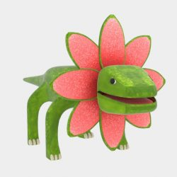 Petal Monster Lizard 3d model blend