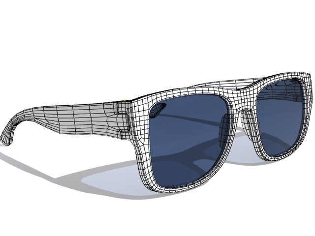 sunglasses 3d model max fbx 223045