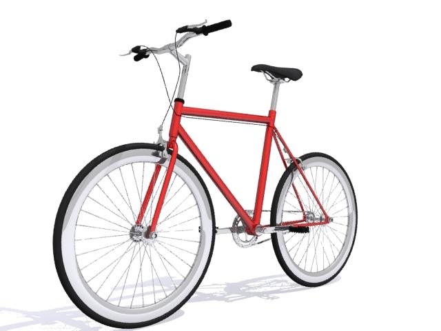mountain bike 3 3d model max fbx 223054