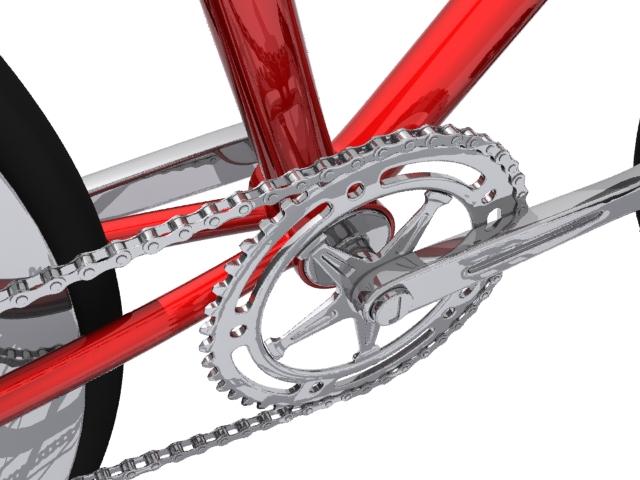 mountain bike 3 3d model max fbx 223056